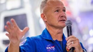 NASA astronaut Douglas Hurley is seen in October 2019