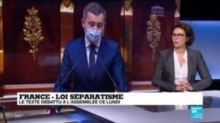 """2021-02-01 16:02 Loi contre le """"séparatisme"""" : """"Un texte qui mécontente tout le monde"""""""