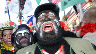 "Le carnaval de Dunkerque perpétue la tradition du ""Black Face"" (photo d'archive de 2006)"