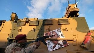 Libyan National Army - Haftar  Benghazi, Libya January 28, 2020. REUTERSEsam Omran OK