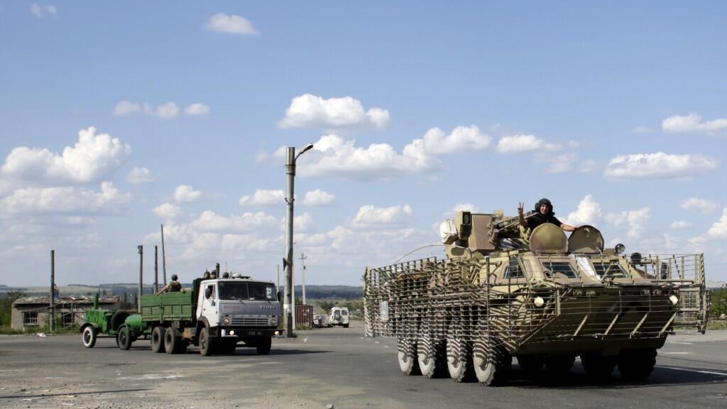 """Les forces ukrainiennes se sont """"approchées"""" de la périphérie de Donetsk"""