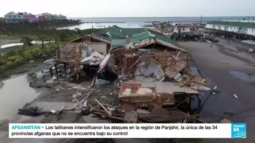 2021-09-03 14:38 La devastación causada por el huracán Ida se deja ver desde Maryland hasta Connecticut