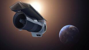 صورة أرشيفية لتلسكوب تابع لوكالة ناسا الفضائية
