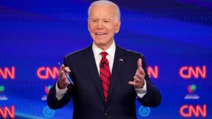 Joe Biden le 15 mars 2020 à Washington.