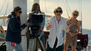 """Tournage d'un tournage, dans """"Sibyl"""" de Justine Triet, dernier film présenté en compétition."""