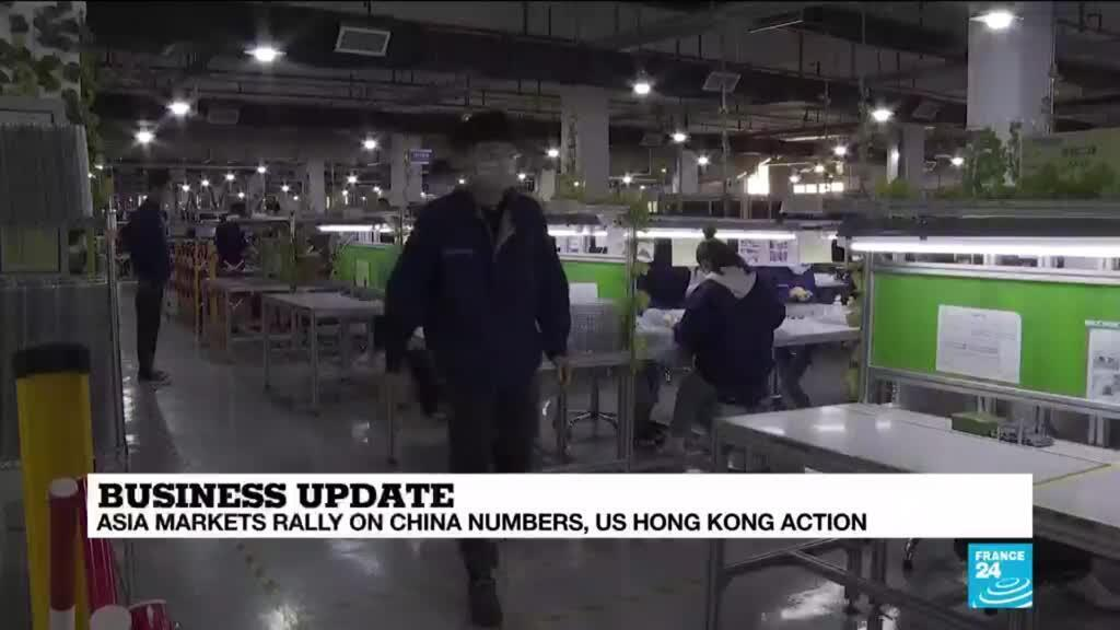 2020-06-01 11:12 Asia markets rally on chine number as US takes action over Hong Kong