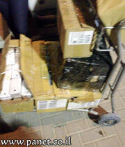 Hundreds of brand new cell phones were also found and seized.