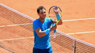 Rafael Nadal a finalement passé l'obstacle argentin Diego Schwartzman.