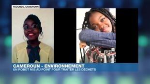 Xaviera Kowo dans Afrique Hebdo