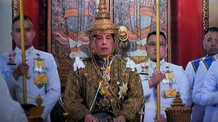 Le roi de Thaïlande, Maha Vajiralongkorn, le 4 mai 2019, lors de son couronnement à Bangkok.