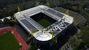 Le stade de Dortmund, le 8 mai 2020