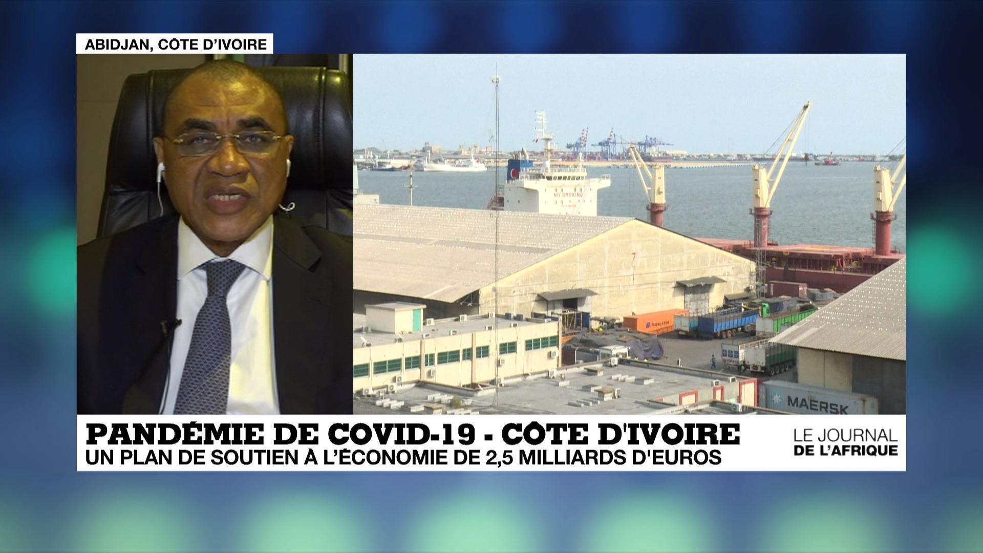 Le ministre ivoirien de l'Economie, Adama Coulibaly