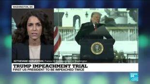 2021-02-09 09:34 Trump team blasts 'absurd' impeachment on eve of trial