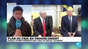 """2020-01-28 10:03 Plan de paix au Proche-Orient : """"Ce plan de paix s'annonce extrêmement pro-israélien"""""""