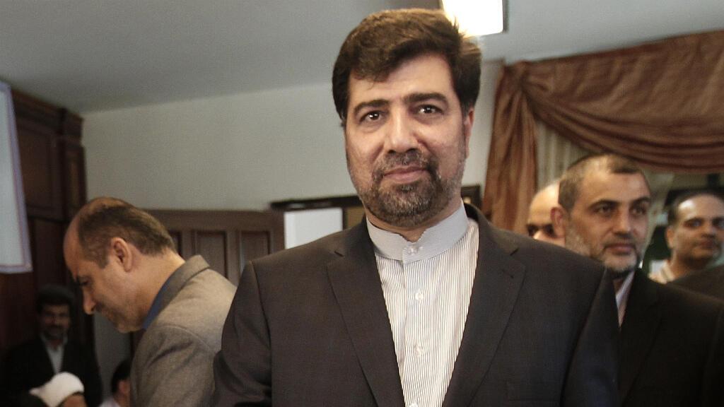 غضنفر ركن أبادي سفيرا إيران في بيروت بين عامي 2010 و2014