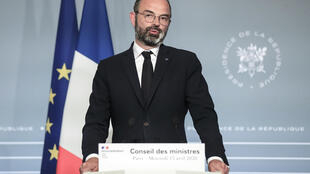 Edouard Philippe le 15 avril 2020 à Paris
