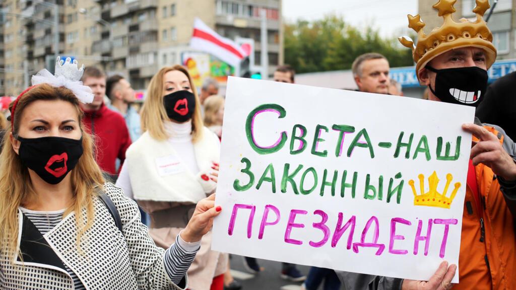 Bielorussie : nouvelles manifestations contre Loukachenko