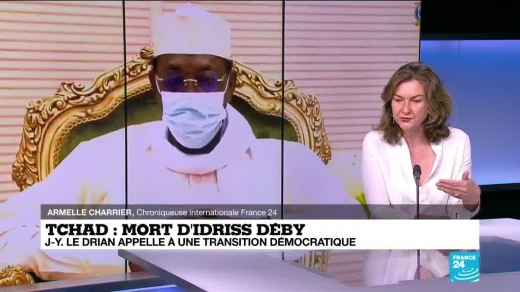 2021-04-22 11:01 Au Tchad, quels sont les risques suite au décès d'Idriss Déby ?