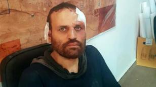 Hicham el-Achmawy, peu après sa capture en Libye, le 8 octobre 2018, par les forces du maréchal Khalifa Haftar.