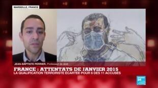 2020-12-16 17:05 Procès des attentats de janvier 2015 : la qualification terroriste écartée pour 6 des 11 accusés