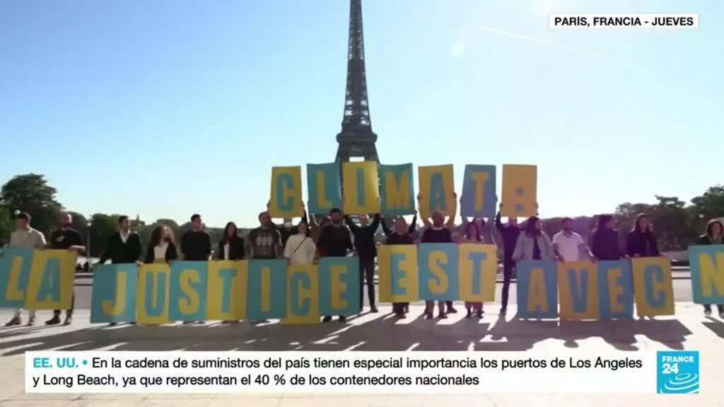 2021-10-14 18:10 Corte de París obliga al Gobierno a cumplir compromisos climáticos