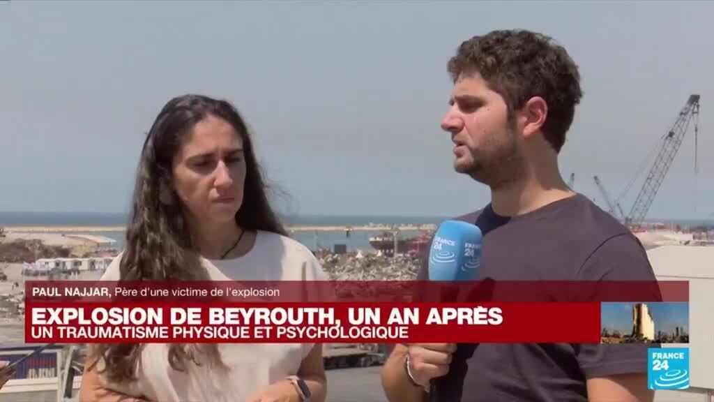 """2021-08-04 13:23 Explosion de Beyrouth, un an après : """"On n'a pas réussi à faire notre deuil en l'absence de justice"""""""