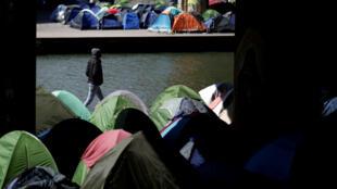 París, capital de Francia, es una de las ciudades que más se ha visto afectada por el traslado de migrantes a Europa. Abril 6 de 2018.