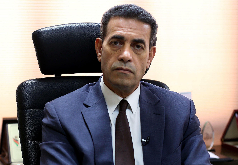 رئيس المفوضية الوطنية العليا للانتخابات في ليبيا عماد السايح خلال مقابلة مع فرانس برس في طرابلس في 05 تشرين الأول/أكتوبر 2021