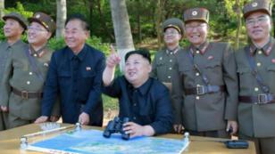 الزعيم الكوري الشمالي كيم جونغ أون - 22 مايو/أيار 2017