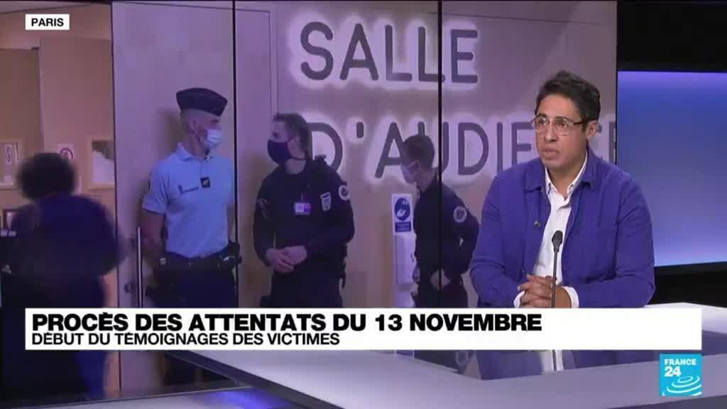"""2021-10-06 13:44 Procès des attentats du 13 novembre : """"Au Bataclan, on avait l'impression d'un crash aérien """" témoigne un policier"""