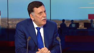 Le Premier ministre libyen Fayez al Sarraj.