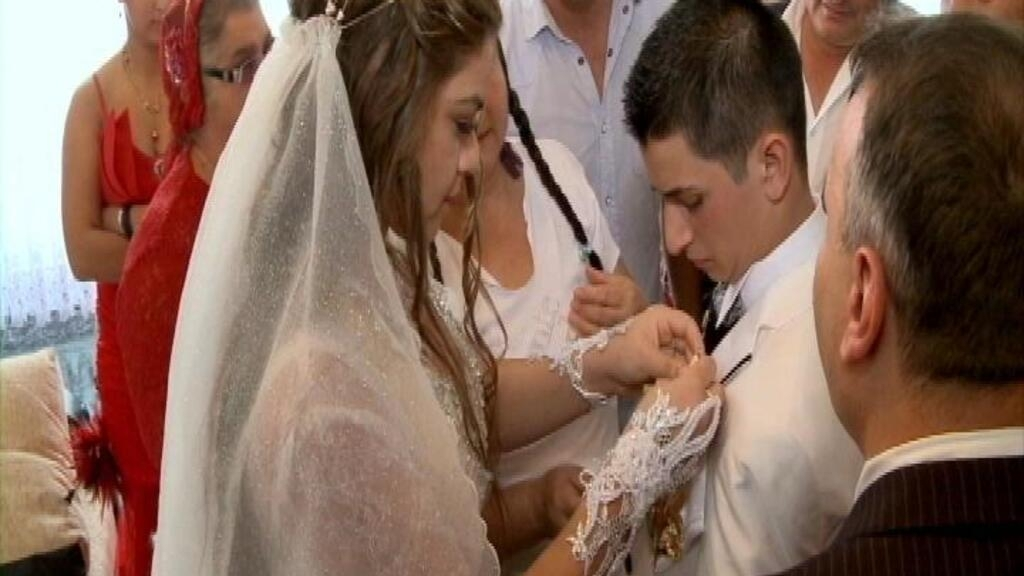 Gypsy weddings: the extraordinary nuptials of Roma children