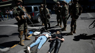 Chile protests army arrest