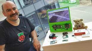 Alan McCullagh, un des ambassadeurs de la communauté Raspberry Pi en France.
