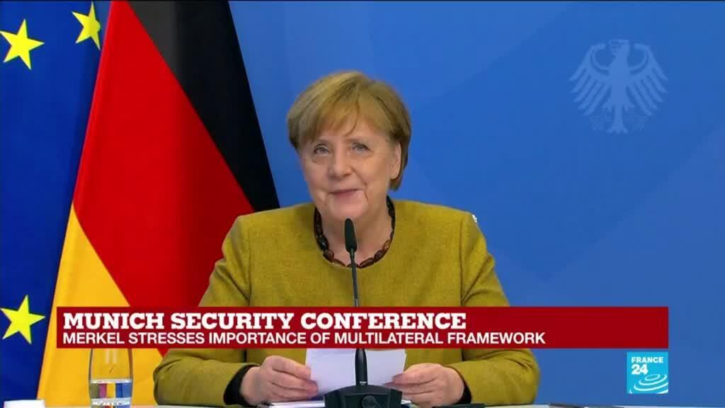 2021-02-19 17:37 REPLAY: Pandemic will not end until world is vaccinated, Merkel says in Munich speech