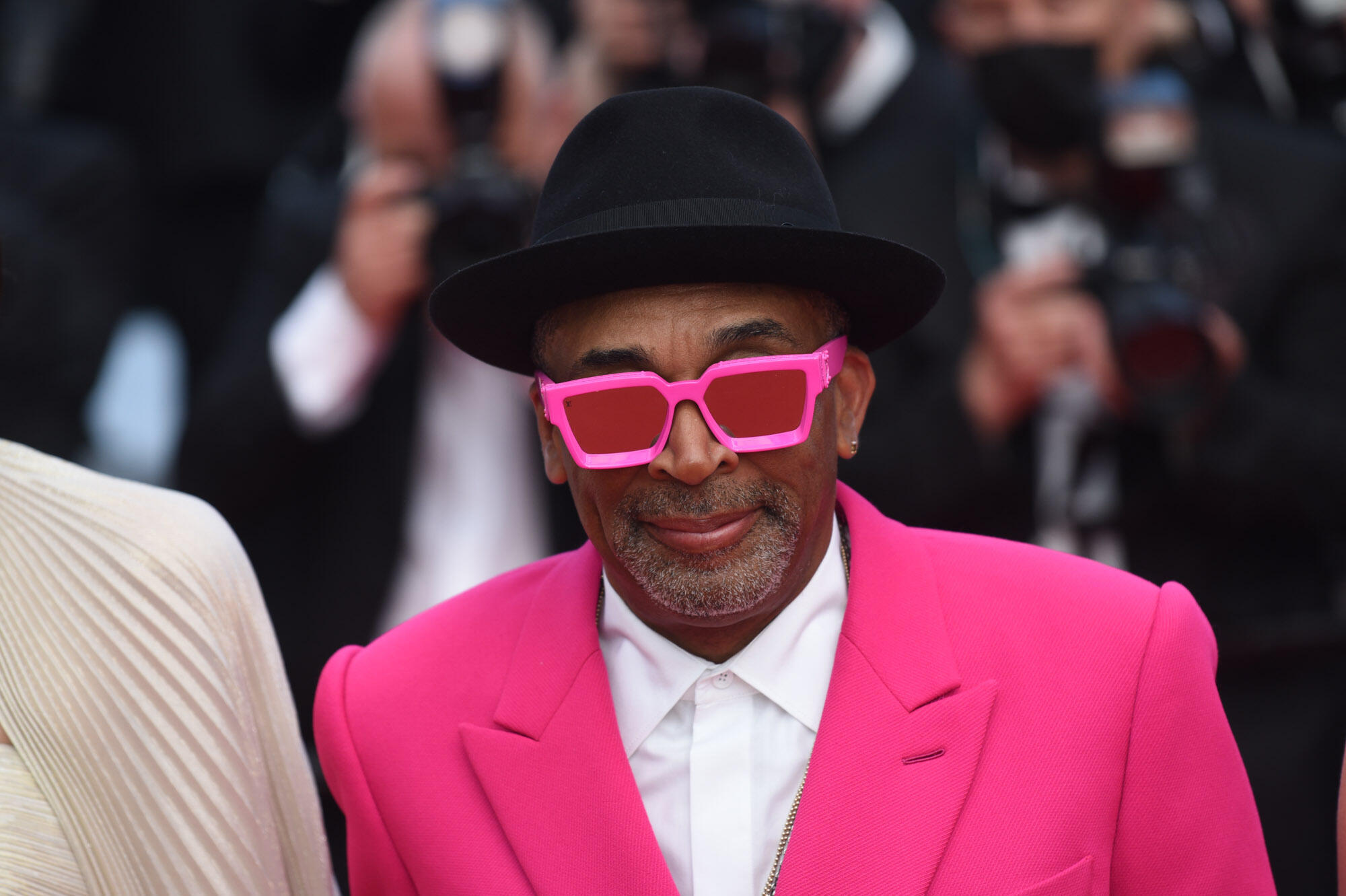 US director Spike Lee was the first Black person to head a Cannes Jury.
