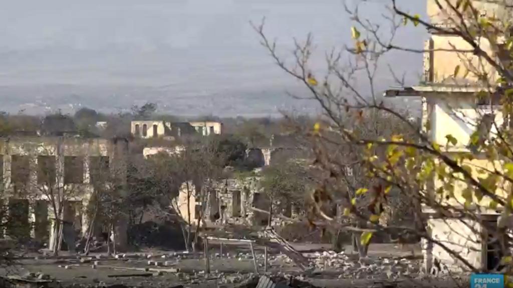 Nagorno-Karabakh: Tough rebuilding ahead for devastated city of Agdam