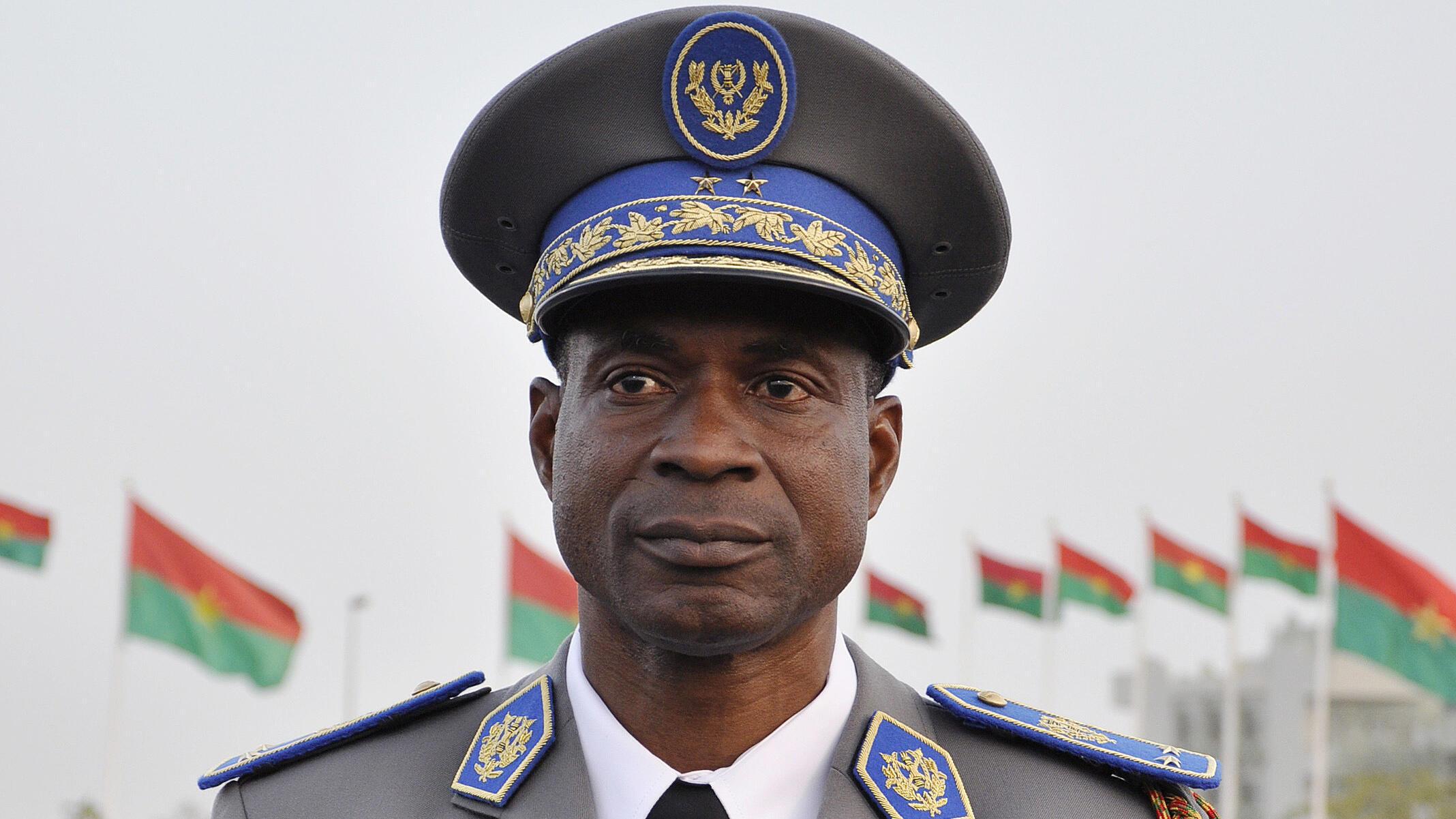 Le général Gilbert Diendéré en 2015.