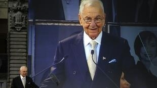 Lee Iacocca, le 13 avril 2011 à New York