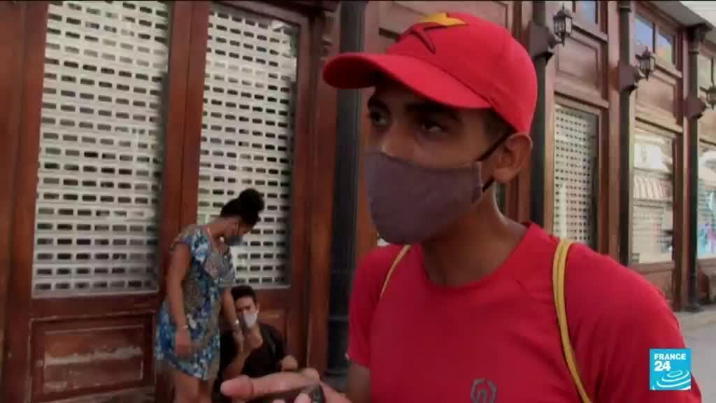 """2021-08-18 18:11 Loi sur la cybersécurité à Cuba : """"la subversion sociale"""" pénalisée sur fond de contestation"""