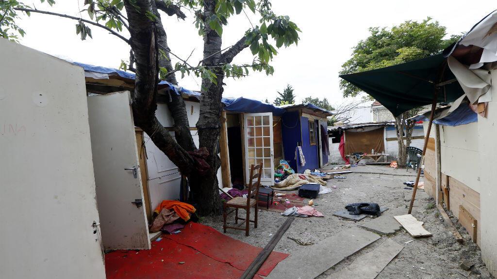 Le campement de roms où vivait Darius avant son lynchage en juin