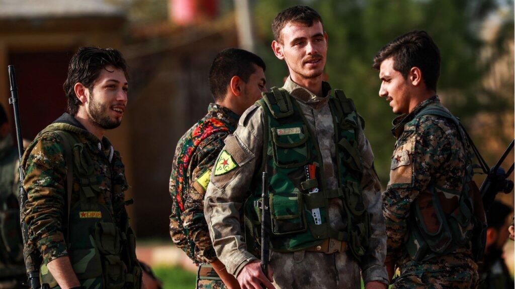 La milice kurde des YPG constitue l'épine dorsale des Forces démocratiques syriennes.