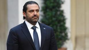 L'ex-Premier ministre libanais Saad Hariri (archives).