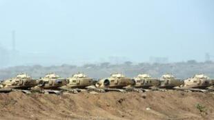 موقع عسكري سعودي على الحدود مع اليمن