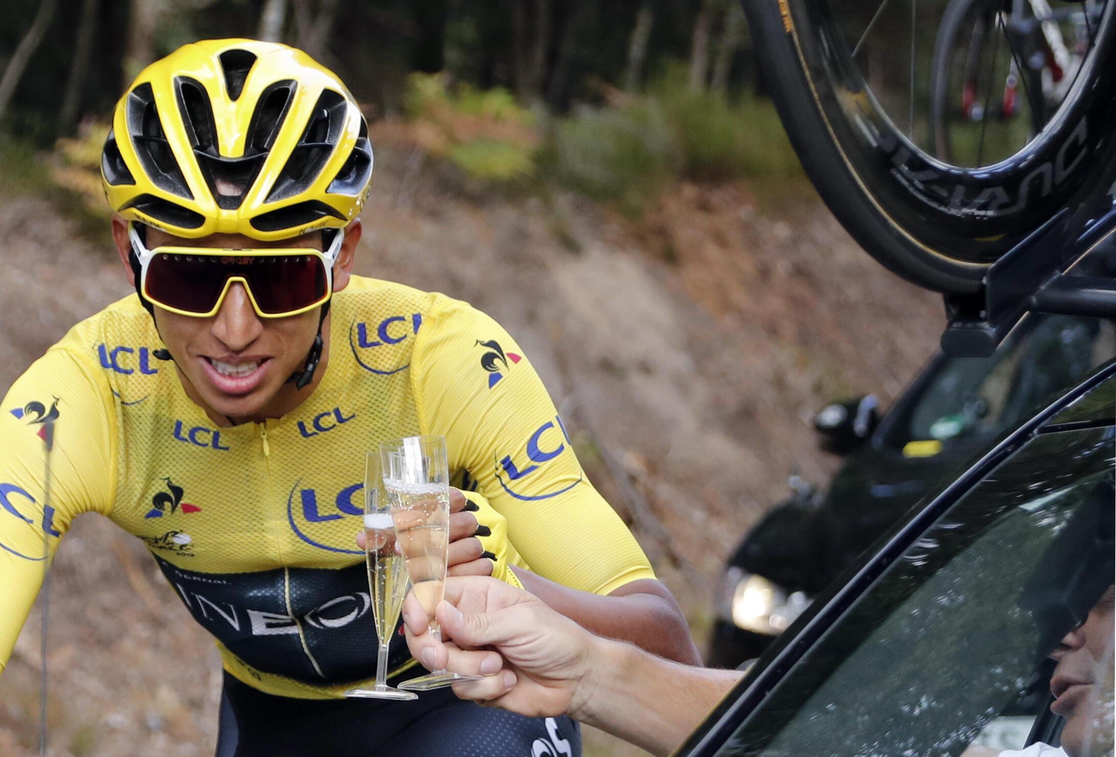 Le Colombien Egan Bernal a remporté le Tour de France 2019.