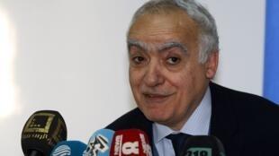 المبعوث الأممي إلى ليبيا غسان سلامة.