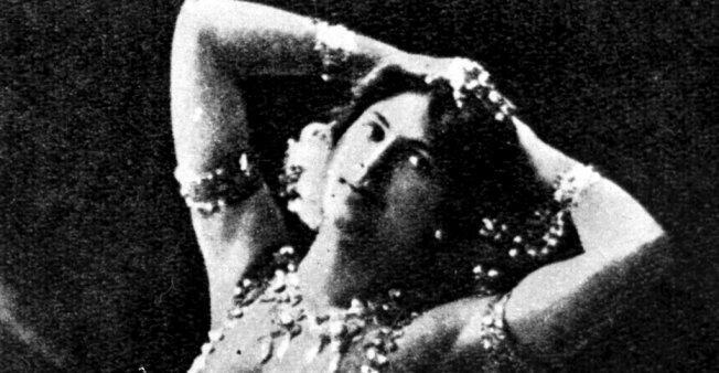 Mata Hari se hizo conocida primero como bailarina exótica. Archivo.
