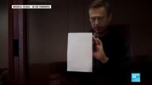"""2021-02-25 13:36 Amnistía Internacional despoja a Navalny, crítico del Kremlin, de la condición de """"preso de conciencia"""""""