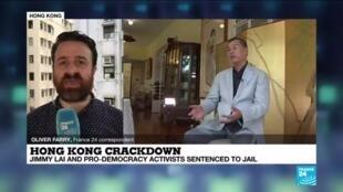 2021-04-16 12:01 Hong Kong democracy leaders given jail terms amid crackdown