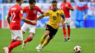 La Belgique menée par Eden Hazard a remporté la petite finale de la Coupe du monde face à l'Angleterre, samedi 14 juillet.